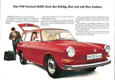 Remembering the Type-3 Volkswagen Variant 6