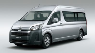 All New 2019 Toyota HiAce Debuts 1