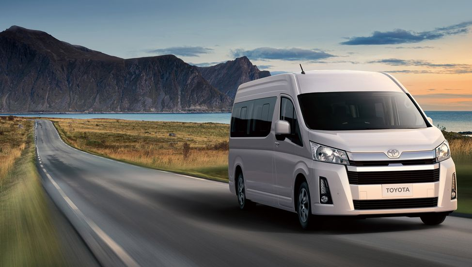 All New 2019 Toyota HiAce Debuts 14