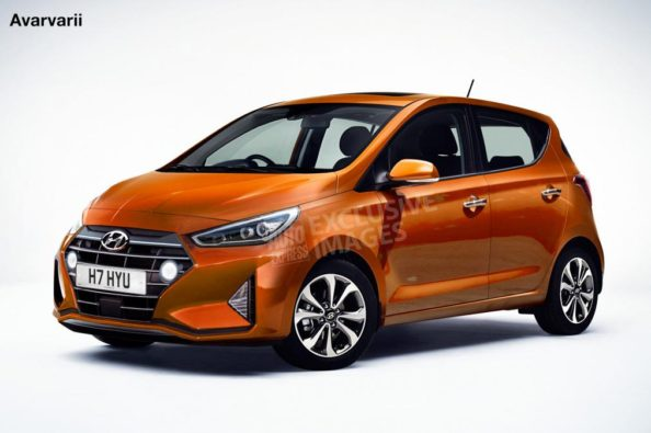 Next Generation Hyundai i10 Renderings 1