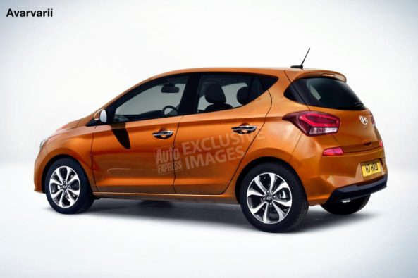 Next Generation Hyundai i10 Renderings 2
