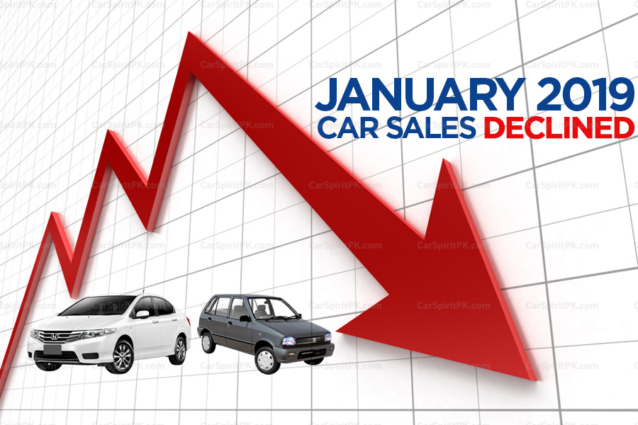 Car Sales Declined in January 2019 9