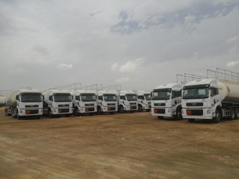 FAW Delivers OGRA Compliant Trucks to Shell and PSO 3