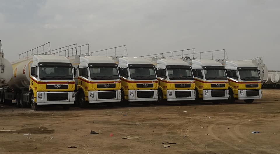 FAW Delivers OGRA Compliant Trucks to Shell and PSO 4