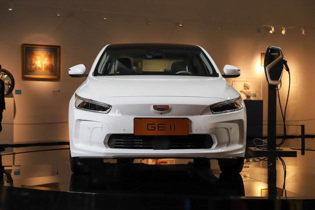Geely Unveils GE11 Electric Sedan 3