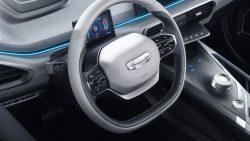 Geely Unveils GE11 Electric Sedan 12