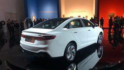 Geely Unveils GE11 Electric Sedan 6