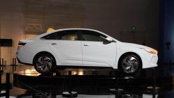 Geely Unveils GE11 Electric Sedan 4