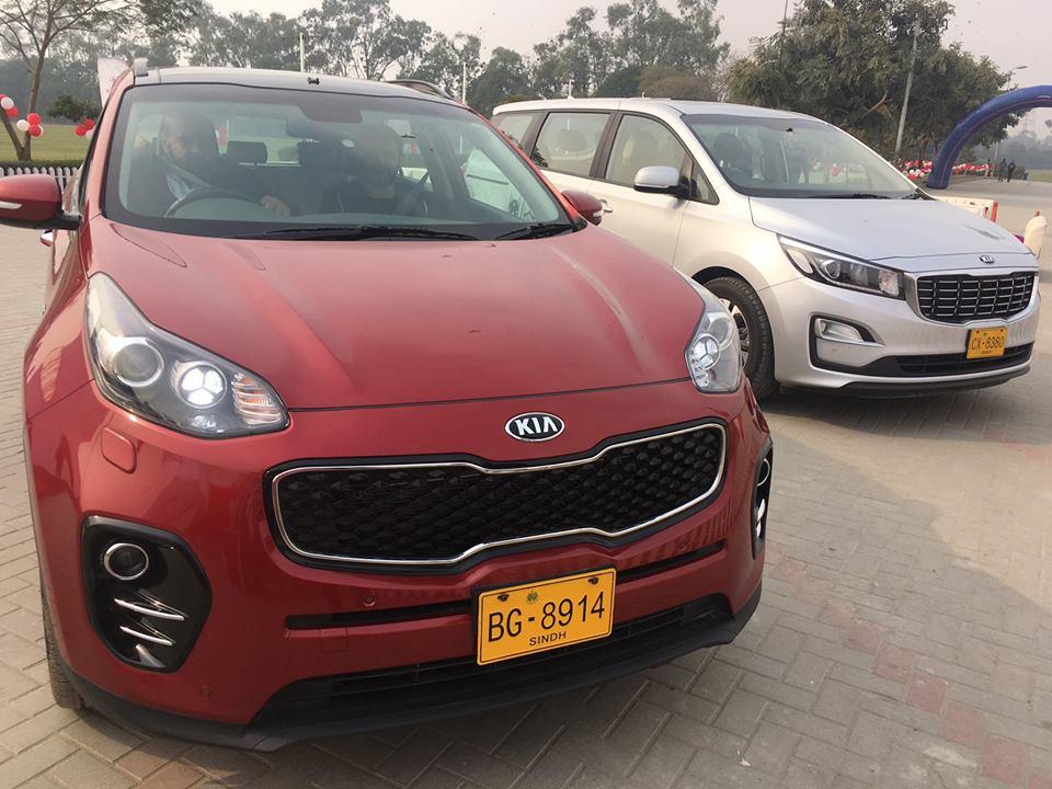 Kia to Launch Sportage SUV in Pakistan 1
