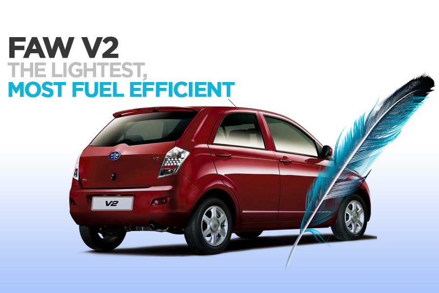 FAW V2 is the Lightest and Most Fuel Efficient in Its Class 8