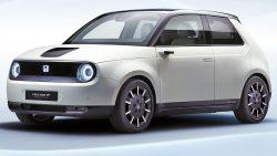 Honda E Prototype (Urban EV) Revealed Ahead of Geneva Debut 1