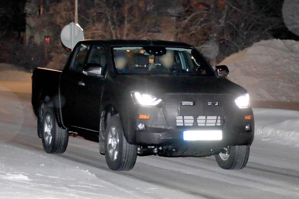 Next Generation Isuzu D-Max Spied Testing 6
