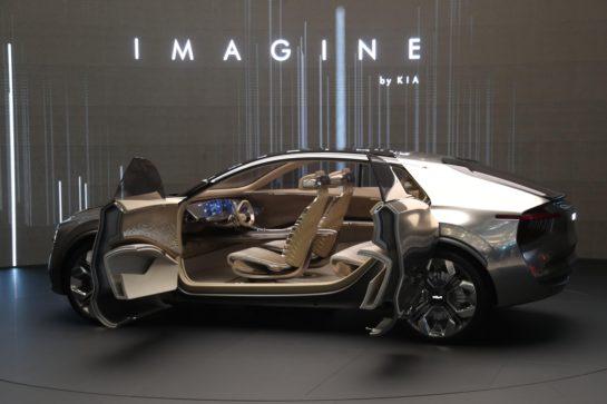 Kia Unveils Imagine Concept at Geneva 2