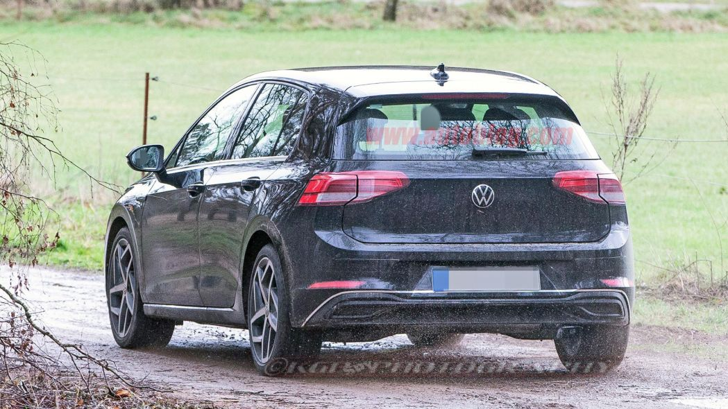 2020 Volkswagen Golf Spotted Undisguised 6