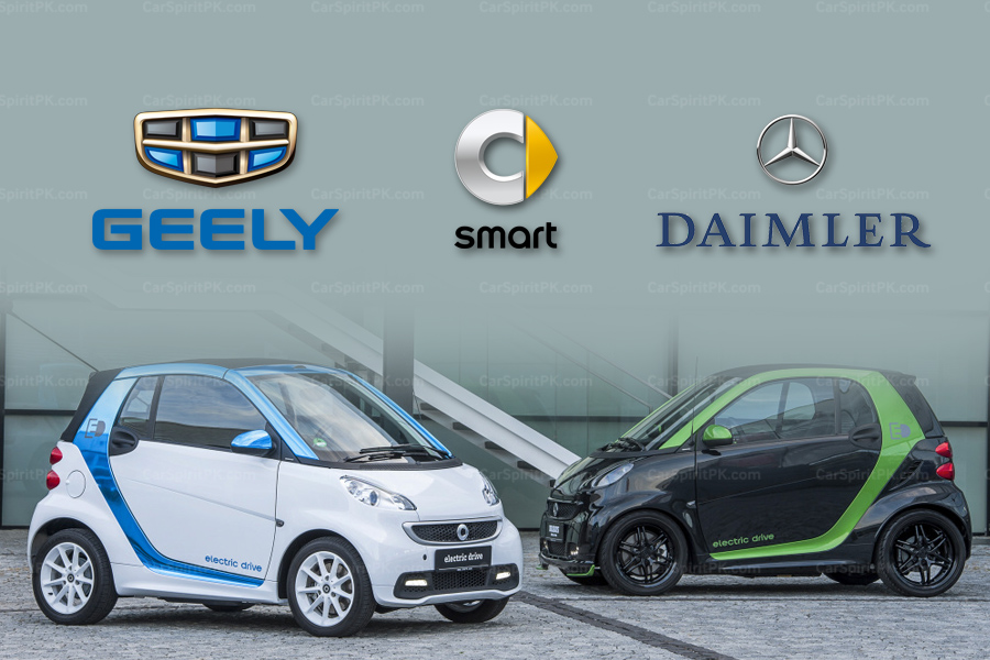Geely to Buy Half of Smart Unit from Daimler 2