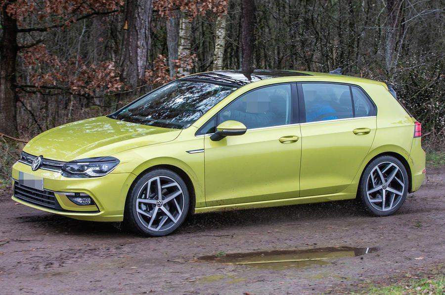 2020 Volkswagen Golf Spotted Undisguised 3