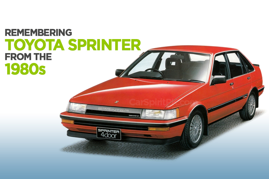 Remembering the Toyota Sprinter 4