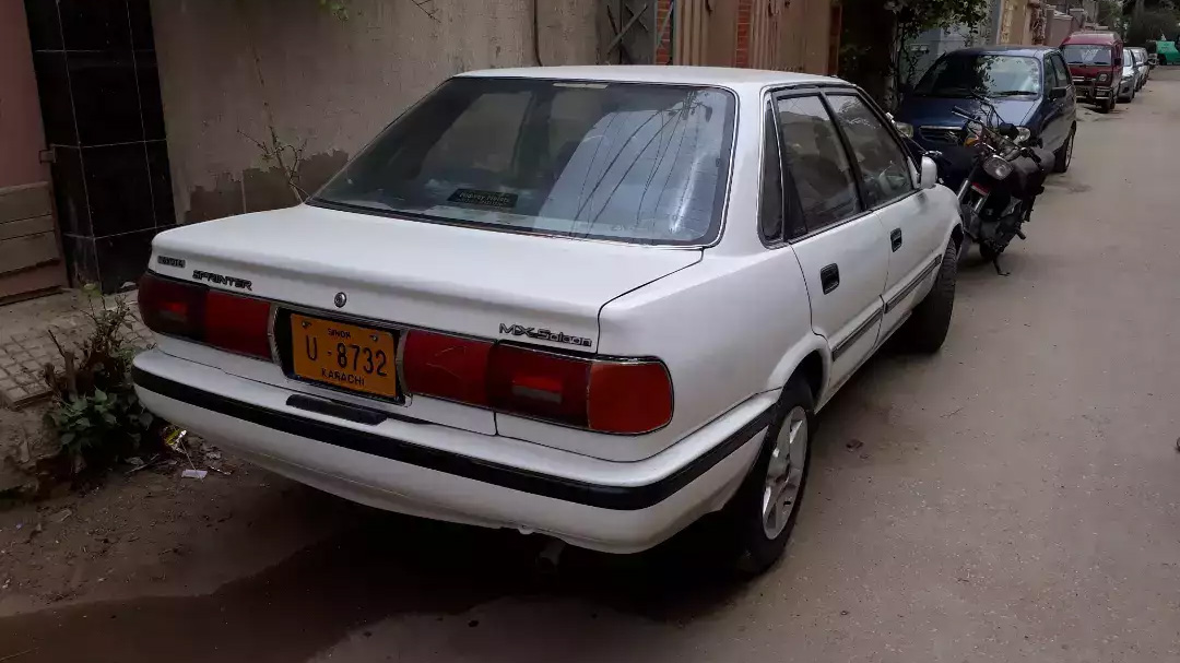 Remembering the Toyota Sprinter 22