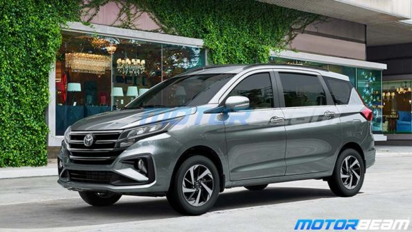 This is how Toyota Ciaz & Ertiga Might Look Like 4