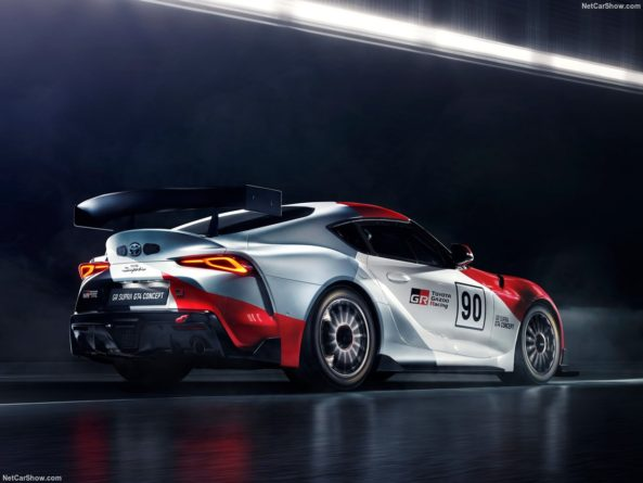 Toyota GR Supra GT4 Concept Revealed Ahead of Geneva Auto Show 7