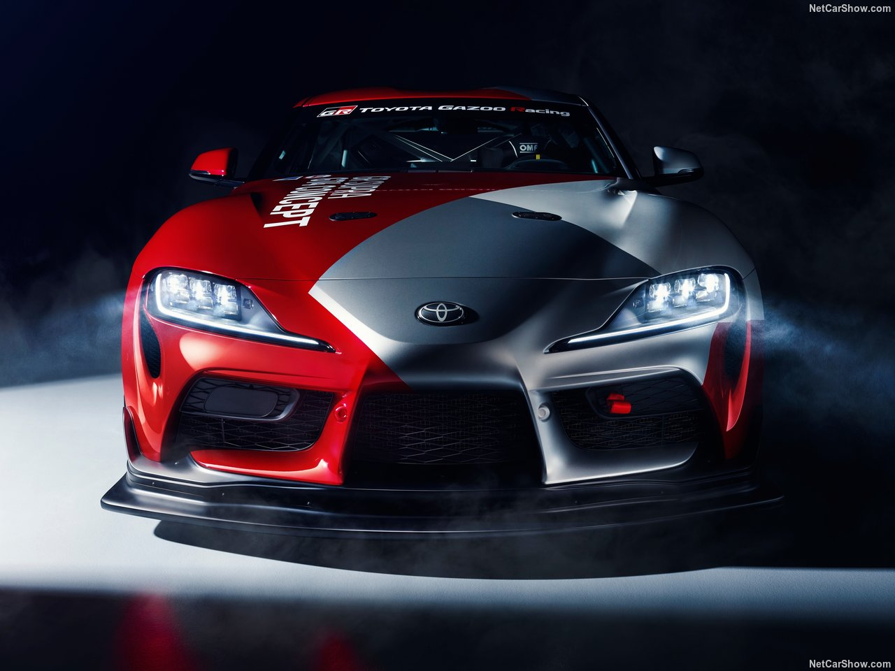 Toyota GR Supra GT4 Concept Revealed Ahead of Geneva Auto Show 2