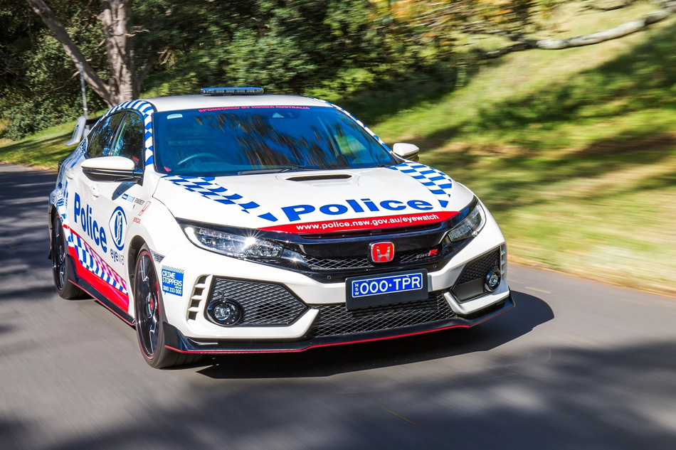 Honda Civic Type R Joins the NSW Police Force 9