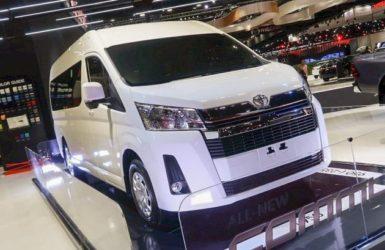2019 Toyota HiAce Commuter at Bangkok International Motor Show 2