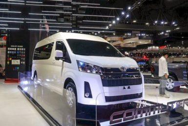 2019 Toyota HiAce Commuter at Bangkok International Motor Show 3