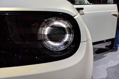 Retro Styled Honda E Prototype Unveiled at Geneva 4