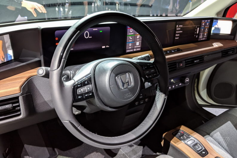 Retro Styled Honda E Prototype Unveiled at Geneva 9