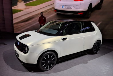 Retro Styled Honda E Prototype Unveiled at Geneva 5