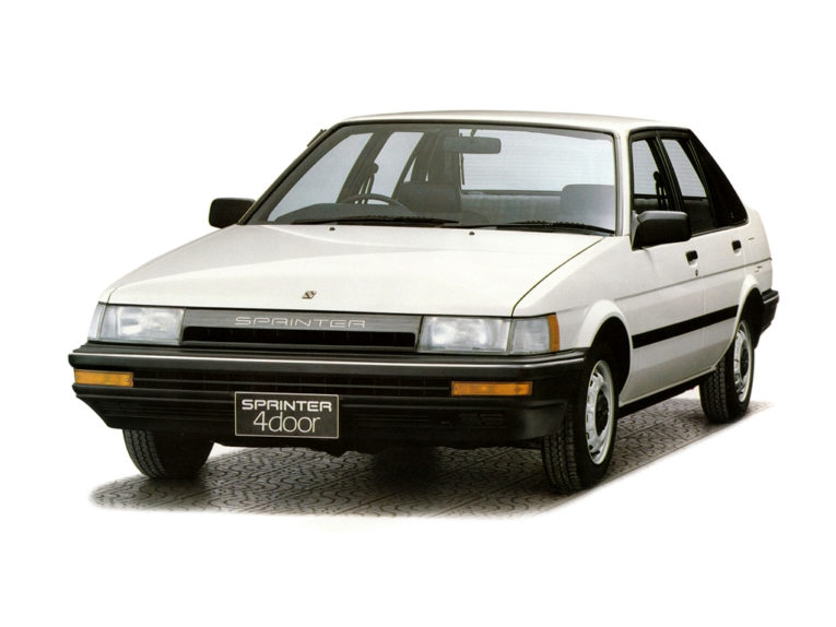 Remembering the Toyota Sprinter 8