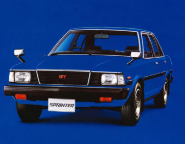 Remembering the Toyota Sprinter 5
