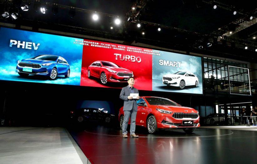 Kia Reveals K3 and K3 Plug-in Hybrid at 2019 Auto Shanghai 1