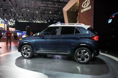 Hyundai Unveils Its Smallest Venue Crossover 12