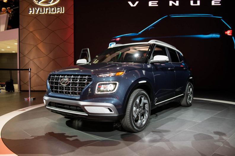 Hyundai Unveils Its Smallest Venue Crossover 10