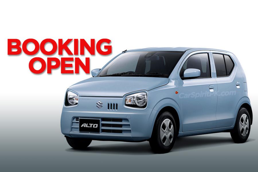 Suzuki Alto 660cc Corporate Bookings Open 7