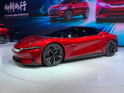 BYD E-SEED GT Concept at 2019 Auto Shanghai 5