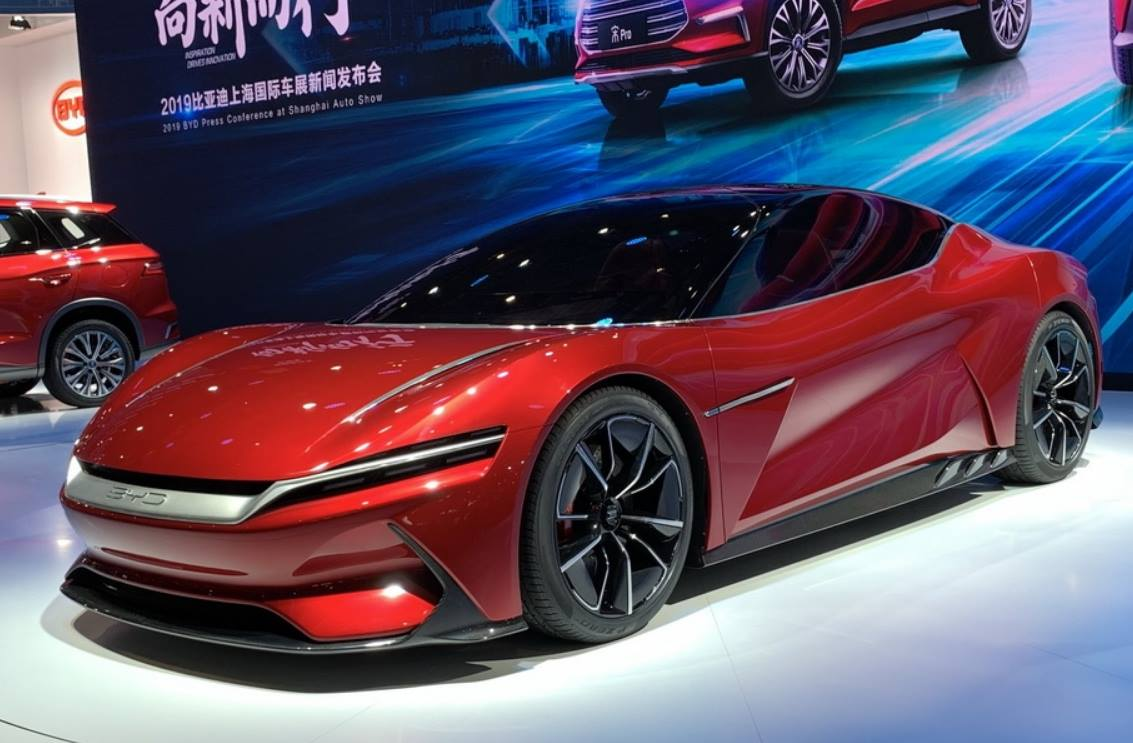 BYD E-SEED GT Concept at 2019 Auto Shanghai 3