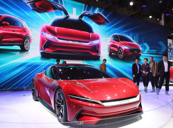 BYD E-SEED GT Concept at 2019 Auto Shanghai 10