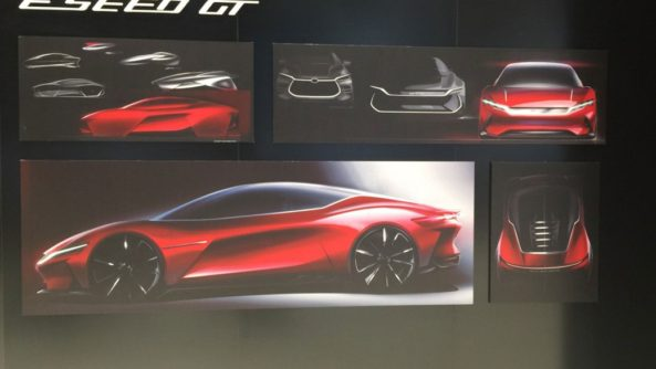BYD E-SEED GT Concept at 2019 Auto Shanghai 2