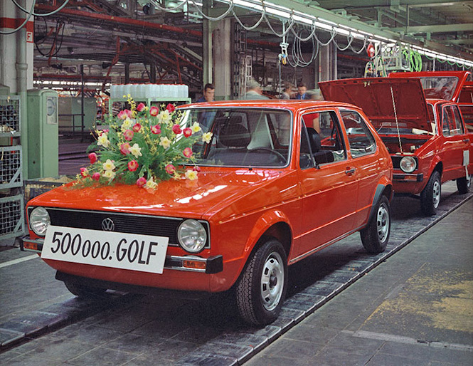 45 Years of Volkswagen Golf 4