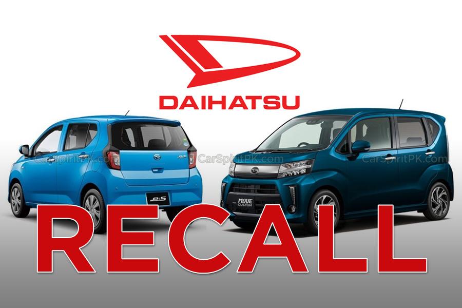 Daihatsu to Recall 1.9 Million Cars in Japan 5