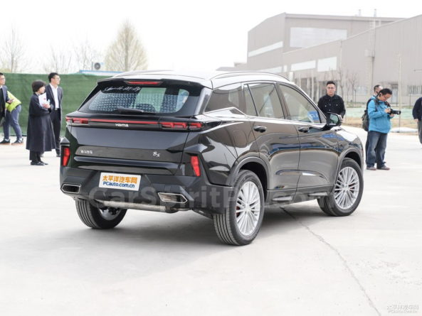 The Stunning Haima 8S SUV Revealed Ahead of Debut 3