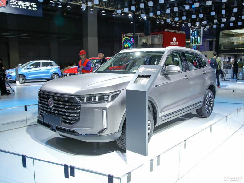 Hanteng X8 SUV at 2019 Auto Shanghai 5