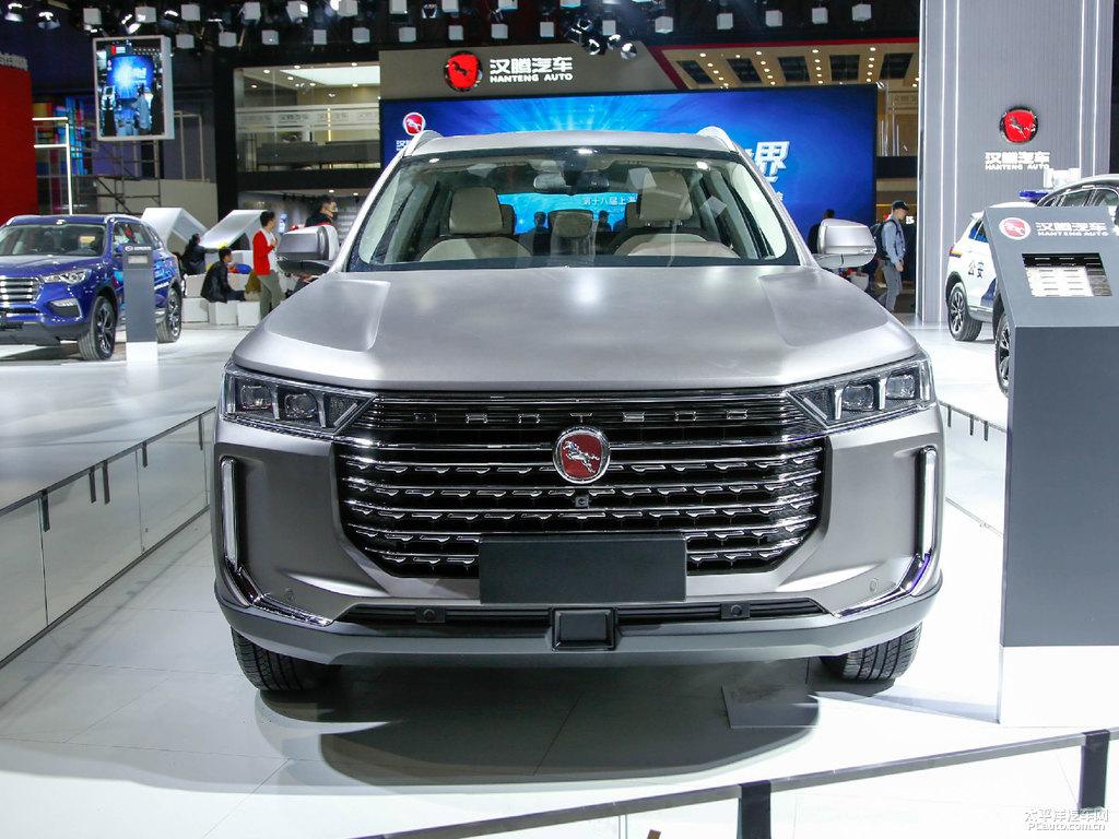 Hanteng X8 SUV at 2019 Auto Shanghai 2