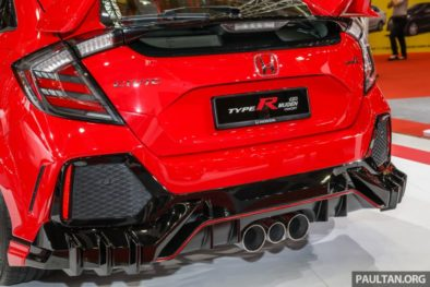 Honda Civic Type R Mugen Concept at 2019 Malaysia Auto Show 5