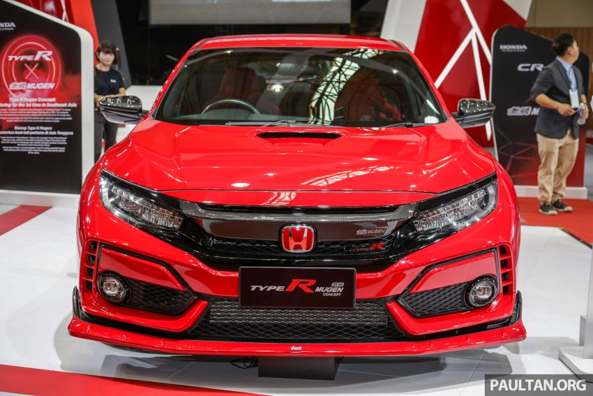 Honda Civic Type R Mugen Concept at 2019 Malaysia Auto Show 8