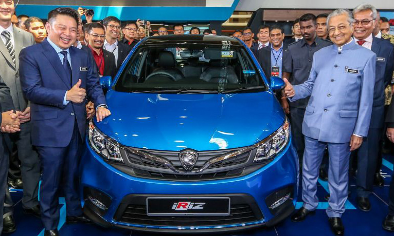 2019 Proton Iriz and Persona Facelifts Unveiled at Malaysia Autoshow 3