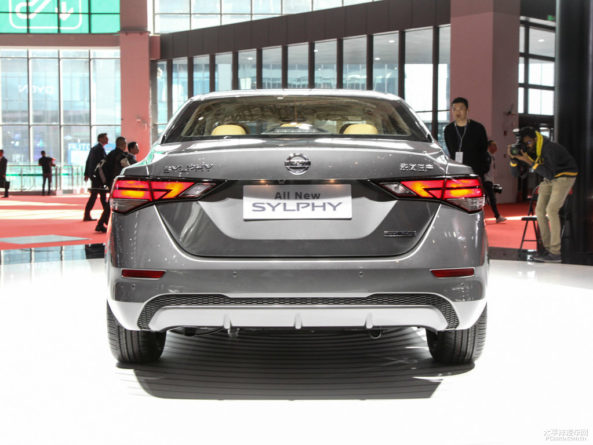 All New Nissan Sylphy Debuts at 2019 Auto Shanghai 22